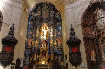 Interior de la Iglesia San Nicolás de Bilbao
