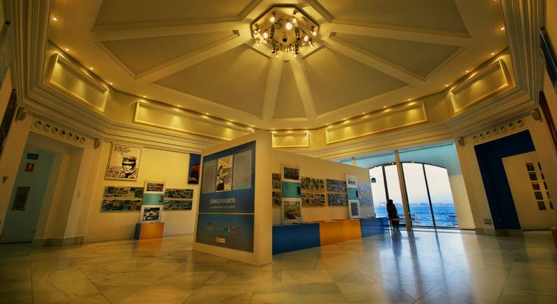 Interior del Palacete del Embarcadero
