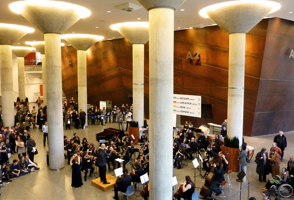 Interior del Palacio de Euskalduna