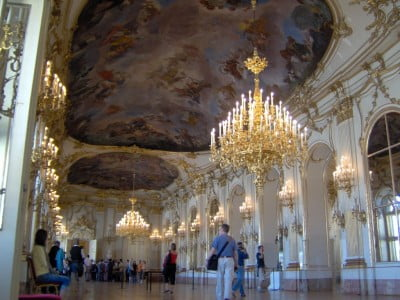 Interior de Palacio en Viena