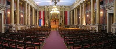 Interior de la Universidad de Viena