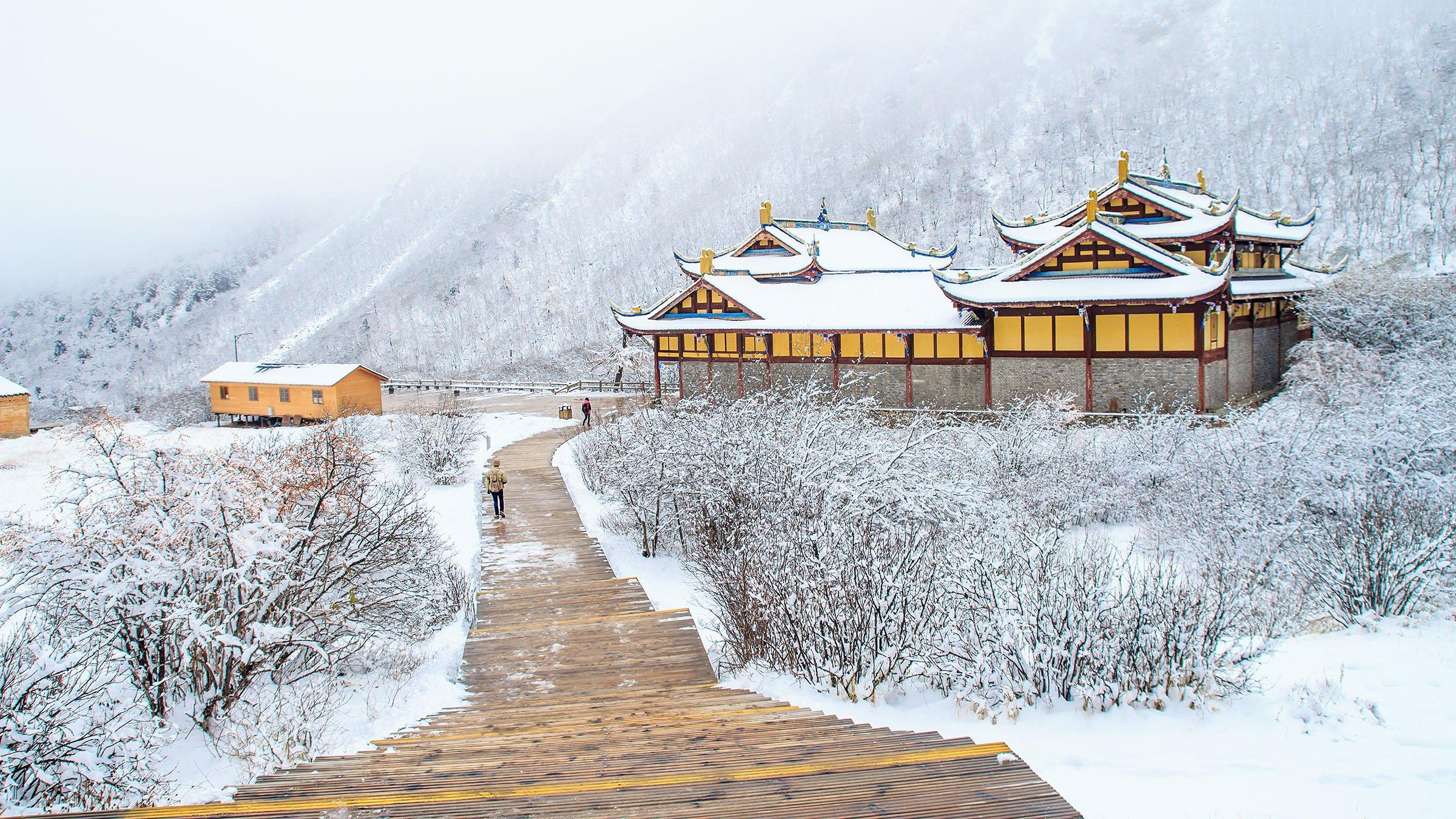 Invierno en China