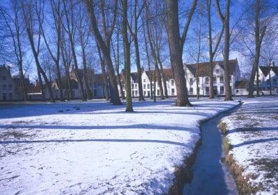 Invierno en Bélgica