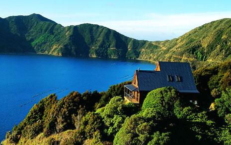 Isla de Forsyth, Nueva Selanda