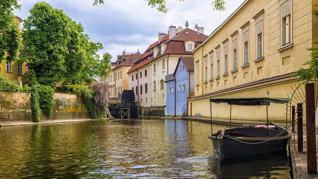 Isla de Kampa, en el barrio de Malá Strana, Praga