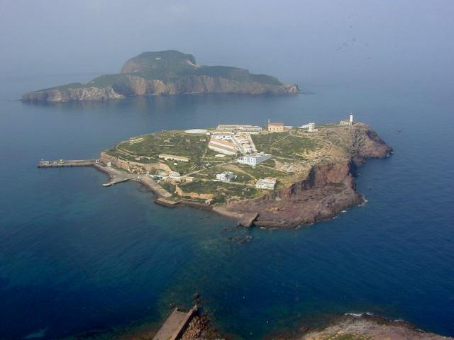 Islas Chafarinas al Norte de África