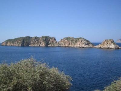 Islas Malgrats en Mallorca, España