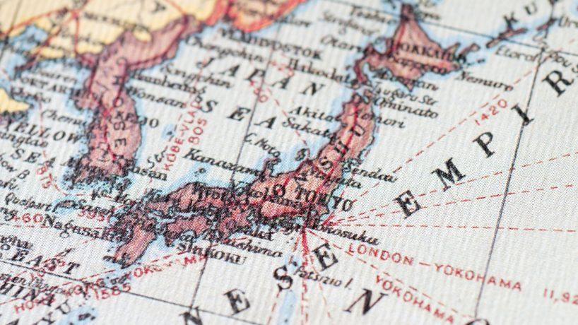 Mapas de Japón: imágenes e información