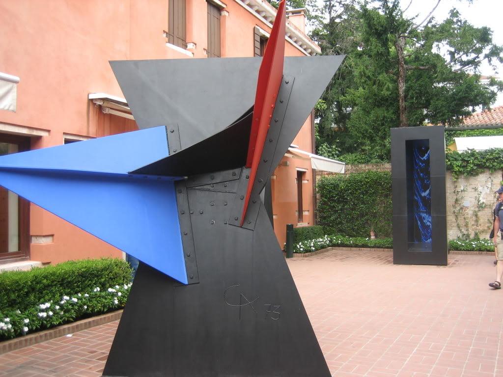 Jardín del Museo Peggy Guggenheim