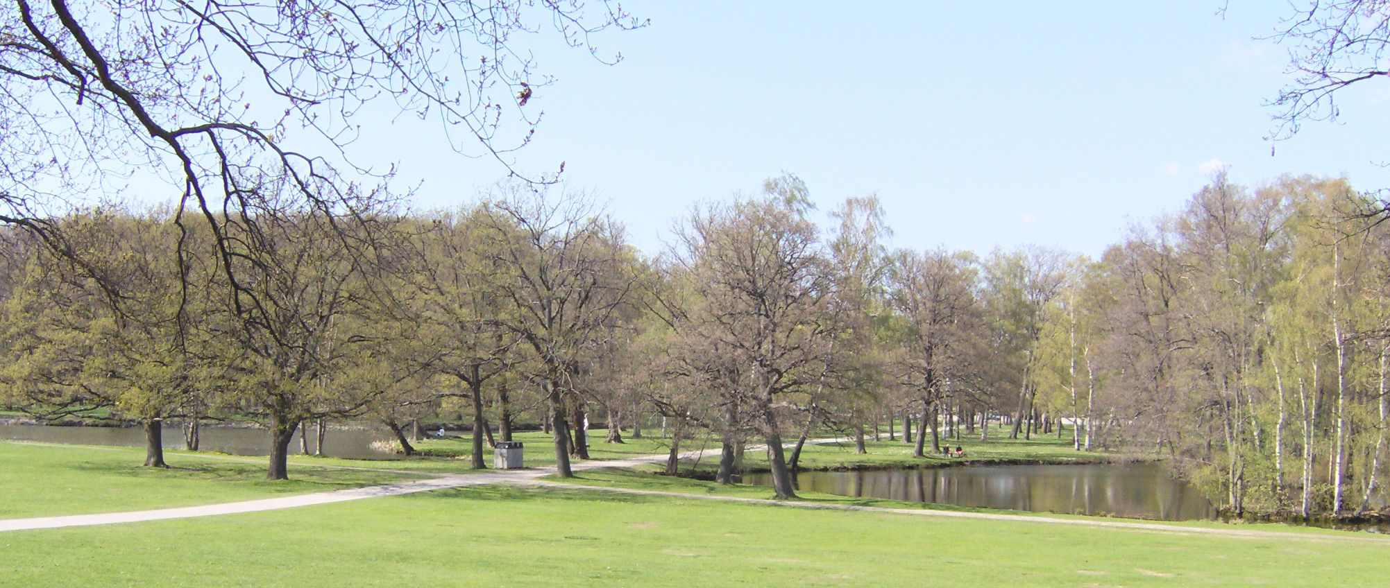 Jardin inglés Drottningholm