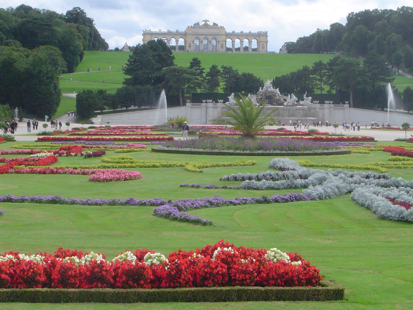 Jardín del Palacio en Viena