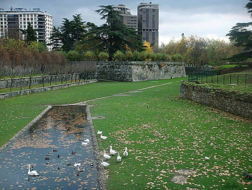Jardínes de la Taconera en Pamplona