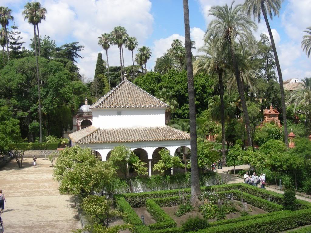 Jardines del alcazar - Jardines de sevilla ...