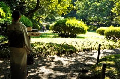 jardines santuario meiji