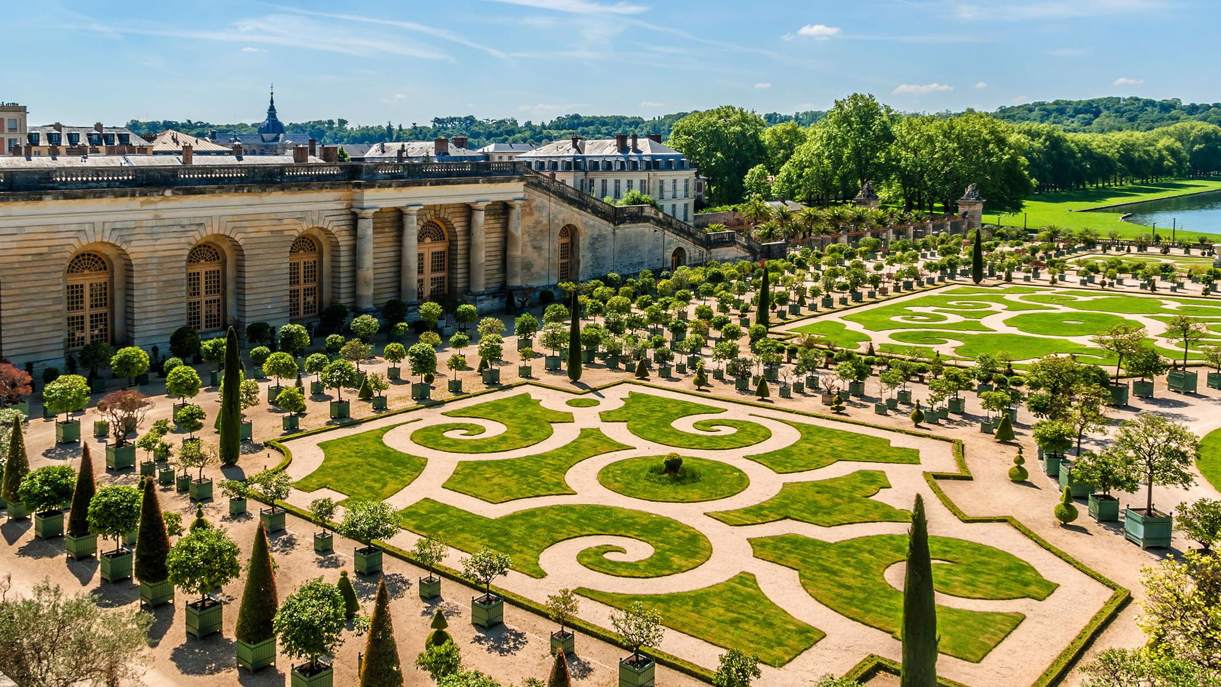 jardines y palacio de versalles