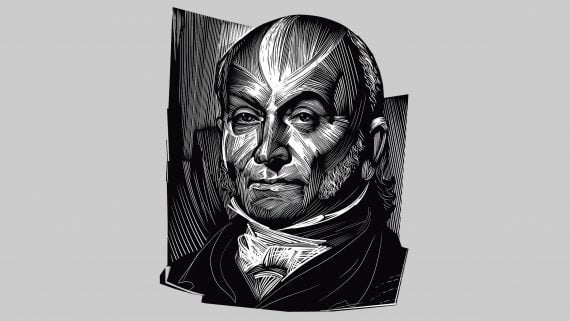 John Quincy Adams: sixth president of the United States.