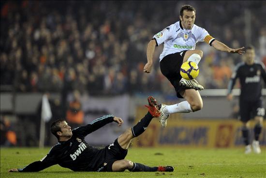 Juego de fútbol en Valencia
