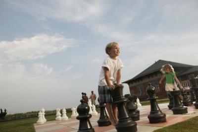 juguetes aire libre ajedrez gigante