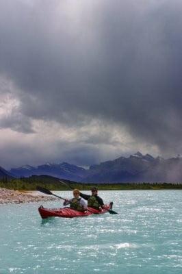 kayak en Asturias de dos personas