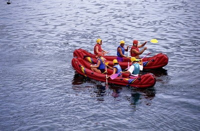 Kayak en Asturias kayak de 3 personas