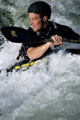 Kayak en Valencia  en acción