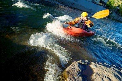 Kayak en Valencia  siguiendo la ruta