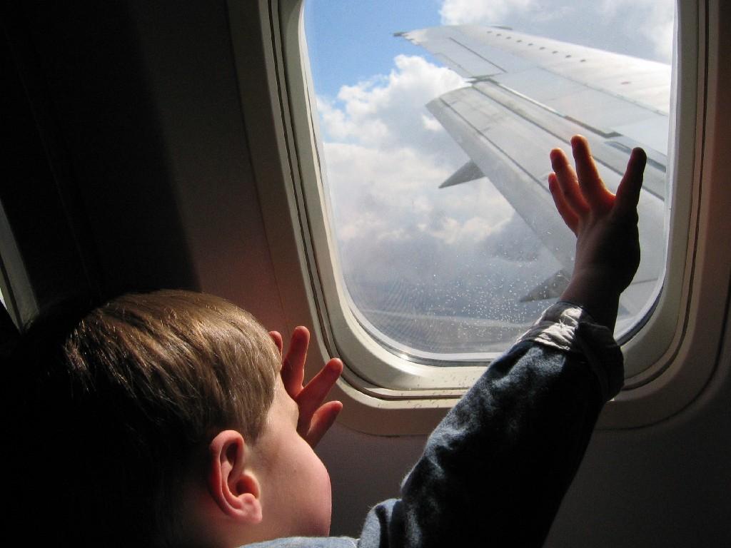 Viajando con niños