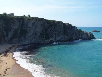la Playa de Covachos