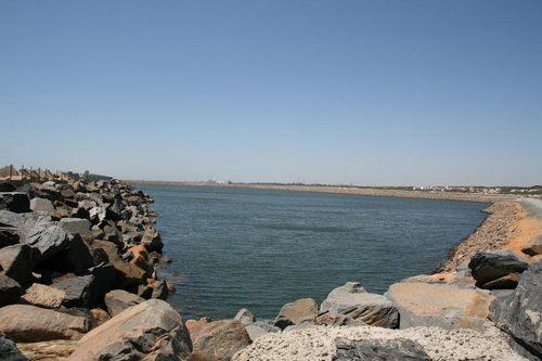 la Playa de Espigón de Huelva