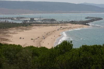 la Playa de la Hierbabuena de Barbate