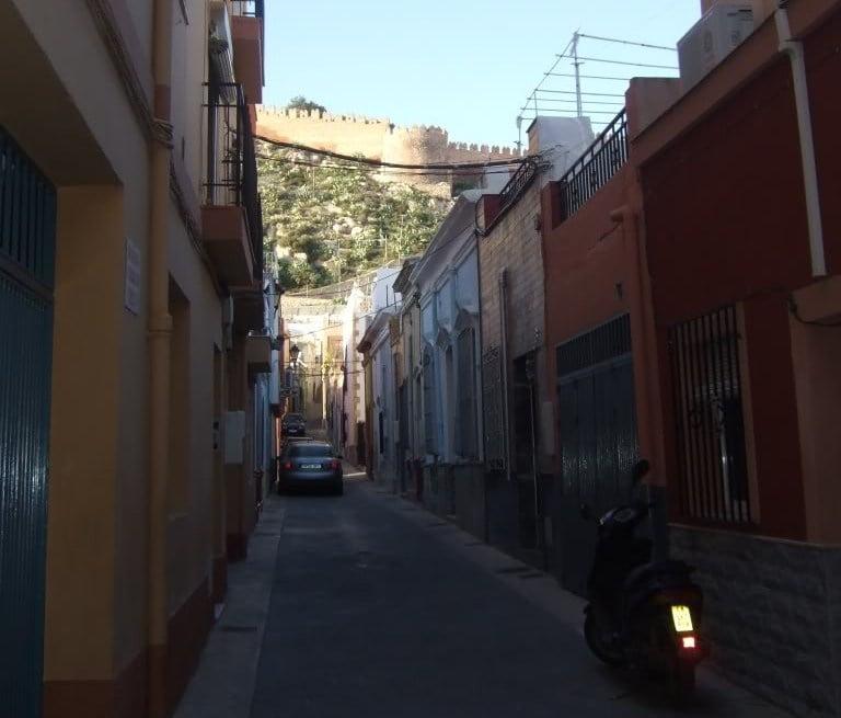 La Alcazaba desde la Almedina
