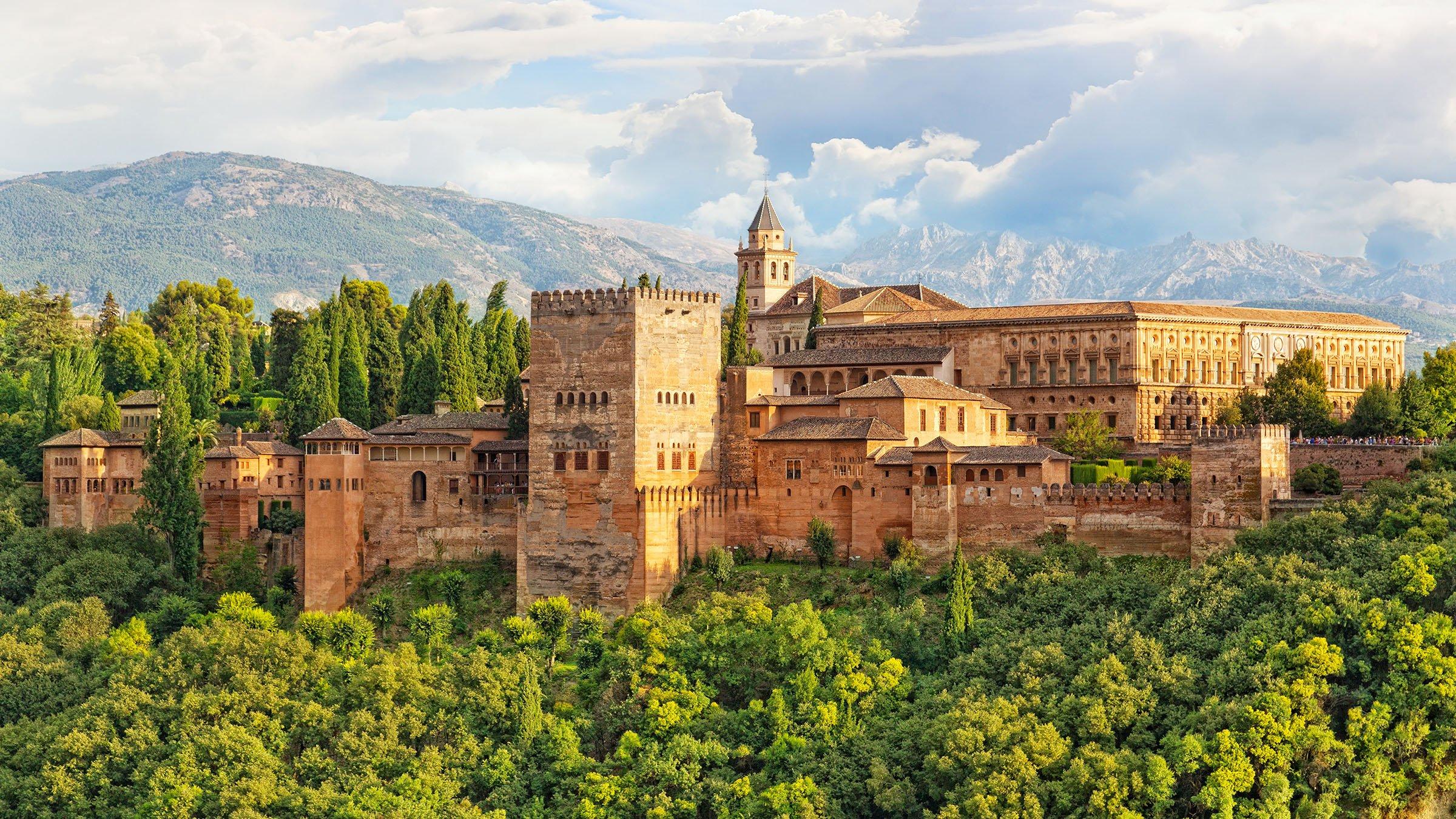 La alhambra de granada un vestigio de al ndalus - Viaje de novios espana ...