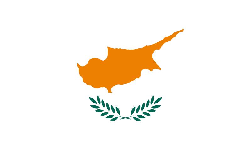 La bandera de chipre - Banera de viaje ...