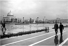 La capital de Ashgabat