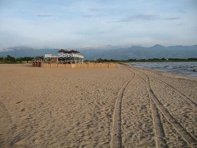 La capital de Burundi, Buyumbura playas sobre el lago Tanganica