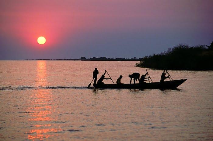 La capital de Burundi, lago Tanganica