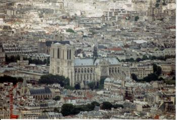 La Catedral de Notre Damme, Francia