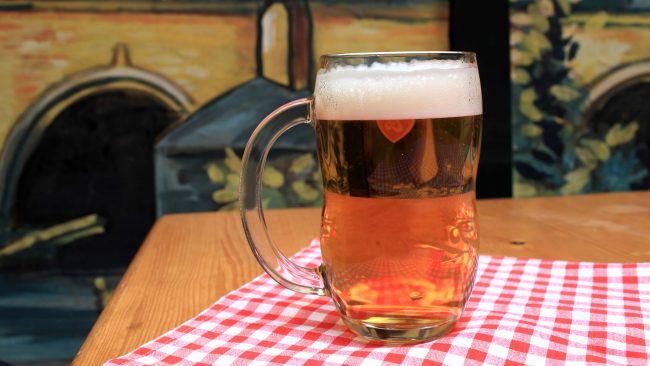 Beer, the Czech's favorite drink