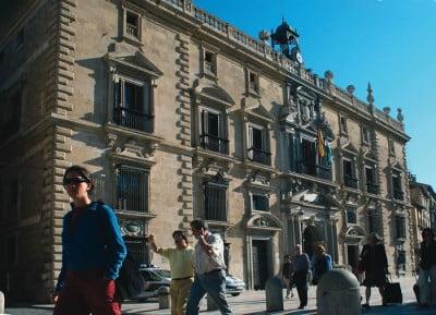 La Chancillería en la Plaza Nueva