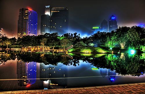 La ciudad de Kuala Lumpur