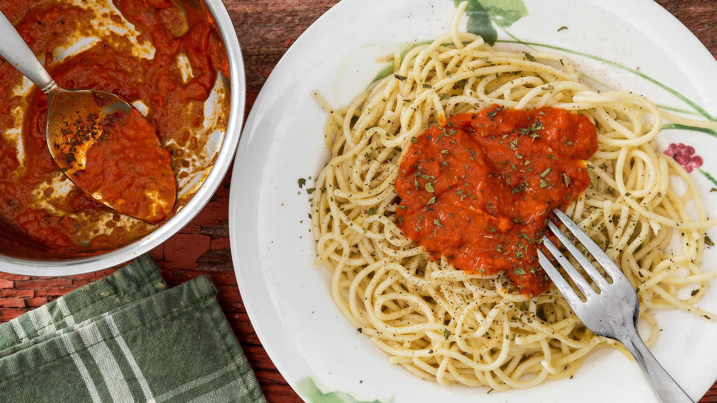 La correcta combinaci n de pasta y salsa en la gastronom a for Comida italiana