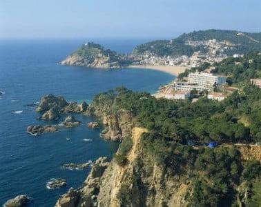 La costa catalana paisaje