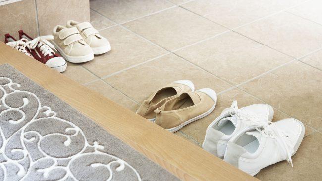 O costume canadense de quitarse os zapatos ao entrar na casa