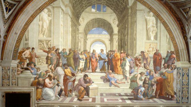 Die Schule von Athen, Raphael