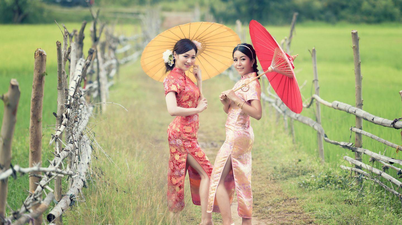 El Traje Típico De China La Ropa Tradicional De Hombre Y Mujer