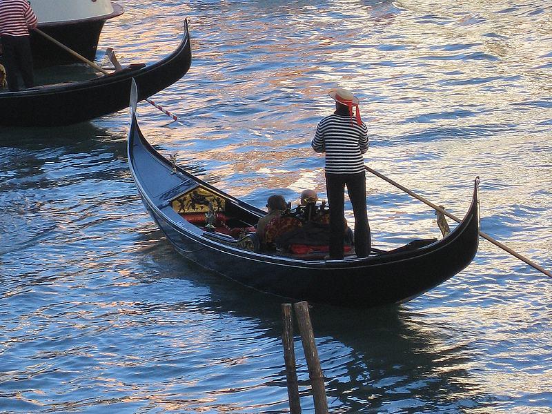 La góndola en Venecia
