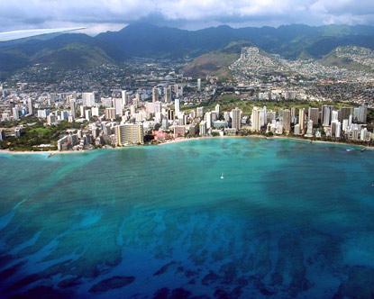La Gran Isla en Hawaii