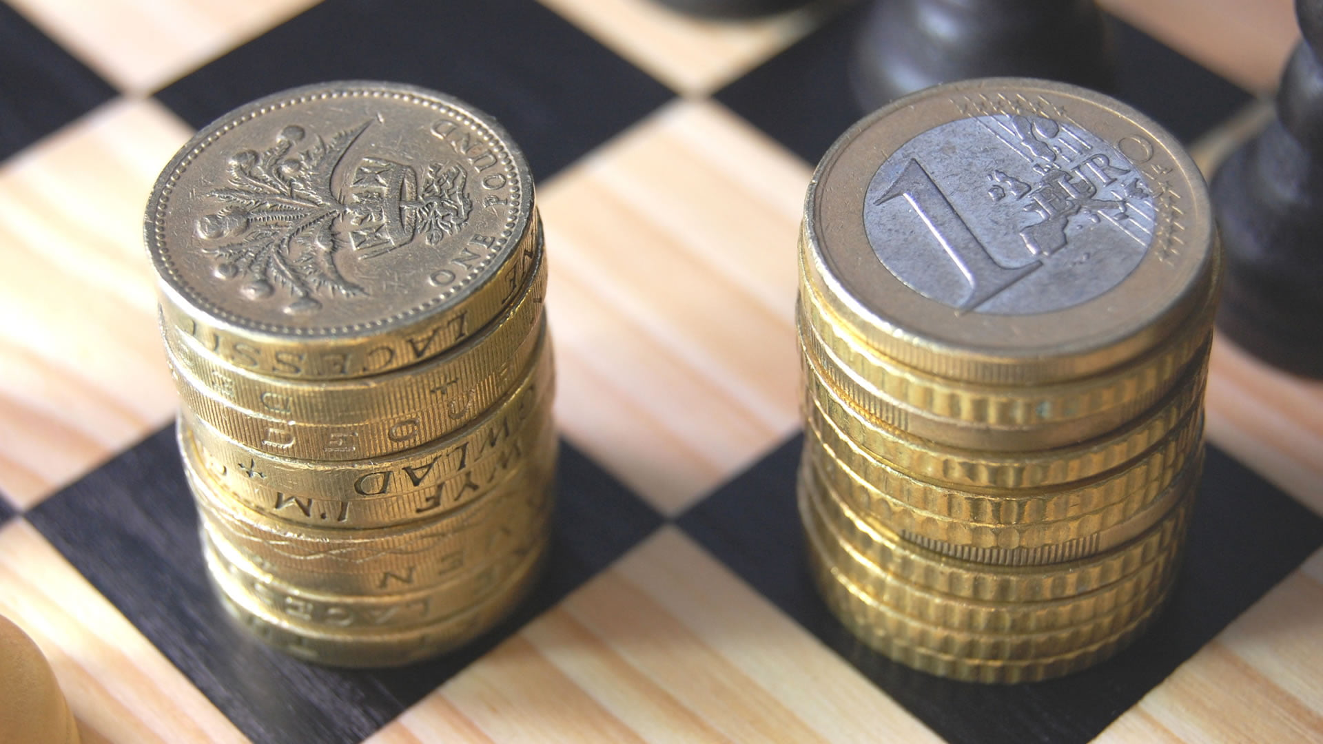 La moneda en Inglaterra euros