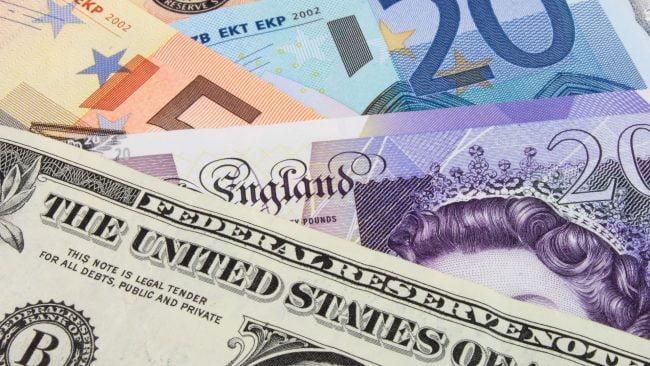 La libra esterlina frente a otras divisas