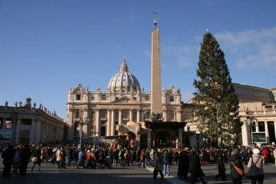 la navidad en Roma